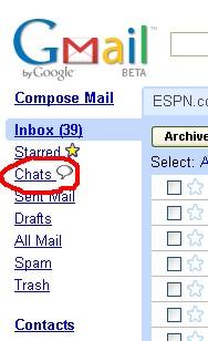 Gmail のメニューにChatが・・・